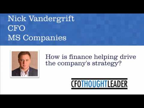 How is finance driving your company's strategy? | Nick Vandergrift, CFO, MS Companies