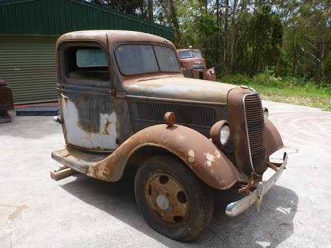 1937 Ford Pickup for sale on Ebay.  99% RUST free...excellent