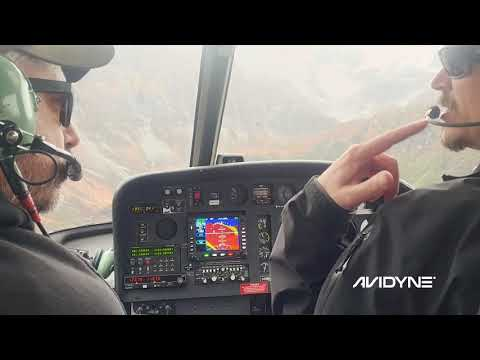 Avidyne IFD550 Performance in Airbus AS350
