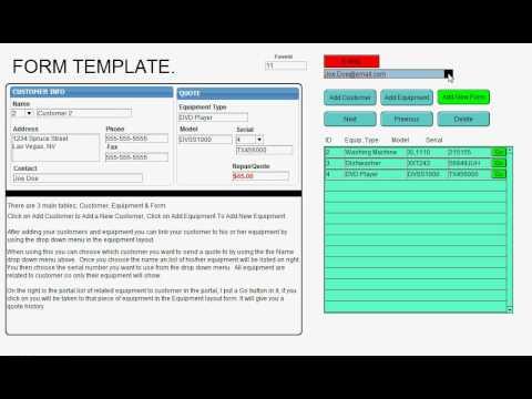 Filemaker purchase order template 3 reinadela selva.
