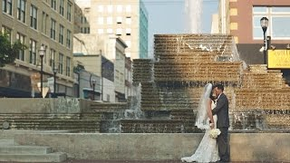Emotional wedding film, bride & groom had the same secret {Springfield Missouri wedding video}
