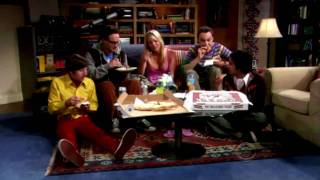The Big Bang Theory opening -- Super slow motion
