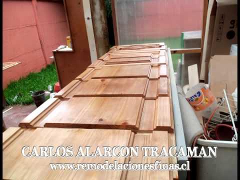 Mueble de cocina muebler a de cocina en madera terciada for Muebles de cocina de madera