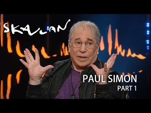 Paul Simon: –Evidently my expression says there's something wrong   SVT/NRK/Skavlan