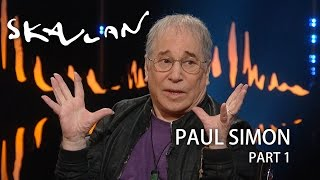 Paul Simon: – Evidently my expression says there's something wrong | SVT/NRK/Skavlan