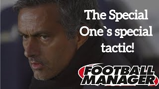 Jose Mourinho Tactic in Football Manager 2017 (tactical analysis)