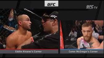 Connor McGregor vs Eddie Alvarez (Full Fight) HD High quality
