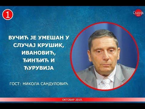 INTERVJU: Nikola Sandulović – Vučić je umešan u slučaj Krušik, Ivanović, i Ćuruvija! (26.10.2019.)