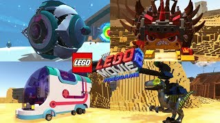 The LEGO Movie 2 Videogame All Vehicles Unlocked