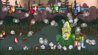 Lets Play Castle Crashers - Ep 11: The narrow door