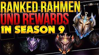 Ranked Rahmen und Rewards in Season 9! [League of Legends] [Deutsch / German]