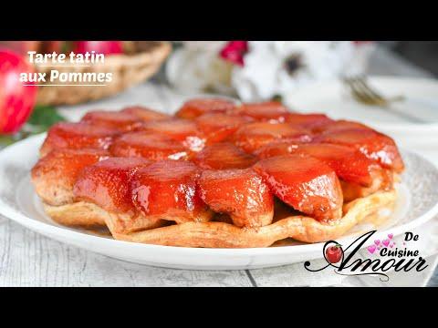 tarte-tatin-aux-pommes,-dessert-classique-et-facile-à-faire