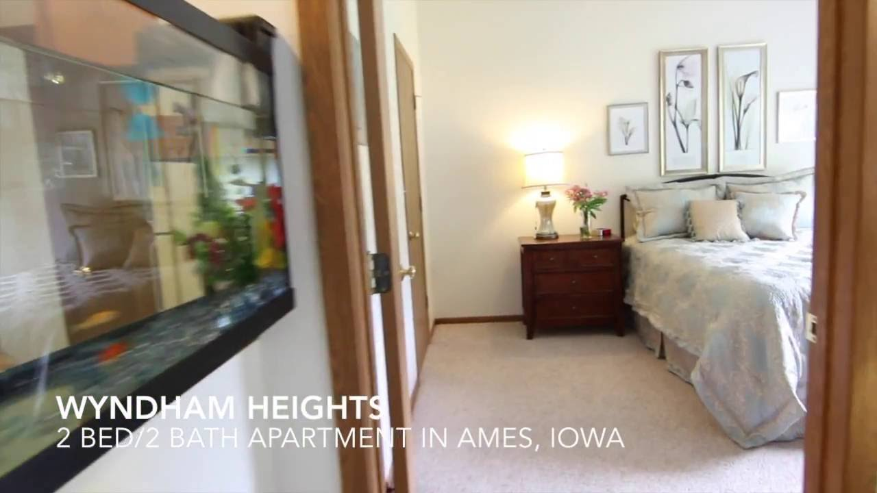 apartment in ames ia at wyndham heights 2 bed 2 bath youtube
