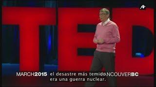 Bill Gates anticipó pandemia en 2015