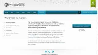 Wordpress installieren Tutorial für Einsteiger deutsch