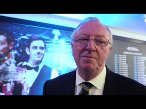 Dennis Taylor Tribute to Steve Davis | Betfred World Championship