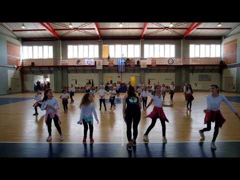 Χορευτικό  - YUPIYANNA - 21/01/2018 - 4K  - Αγώνας Εφηβικού ΕΣΣΚ 2017-2018