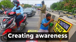 Mumbai: Social workers join hands to spread awareness against overspeeding