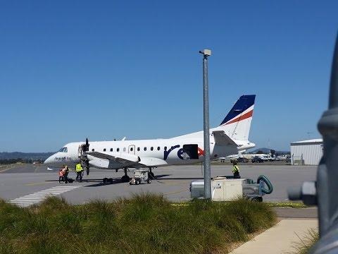 Regional Express 'REX' Saab 340B : Melbourne to Wagga Wagga