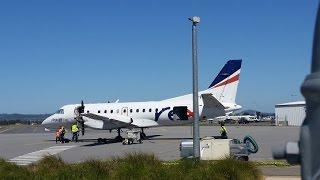 Regional Express 'REX' Saab 340B : Melbourne to Wagga Wagga Top 10 Video