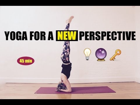YOGA FLOW FOR A NEW PERSPECTIVE // 45 min Total Body Yoga Flow