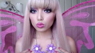 Video Fairy Barbie Princess Make-up look !!! download MP3, 3GP, MP4, WEBM, AVI, FLV Juni 2018