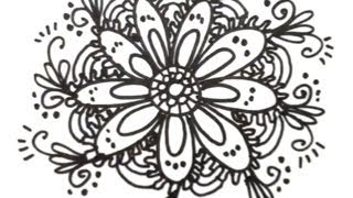 How to Draw Cool Designs - Draw Flower Designs | MAT