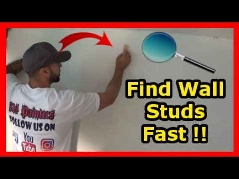 Studs In A Wall And Ceiling Made Easy