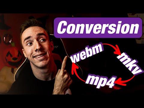 Comment Convertir une Vidéo