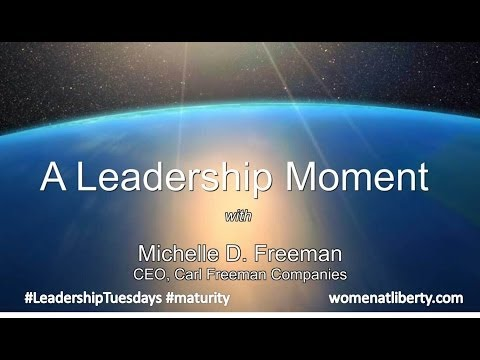 Leadership Tuesdays    Michelle Freeman   LEADExecSleepOut 3 14 14v2