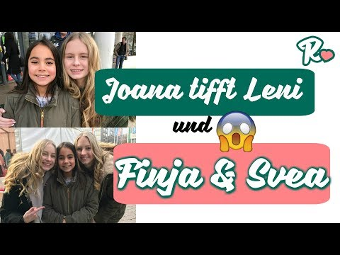 Joana trifft Leni Marie und Finja und Svea | Erste Kino Premiere | Vlog#915 | Rosislife