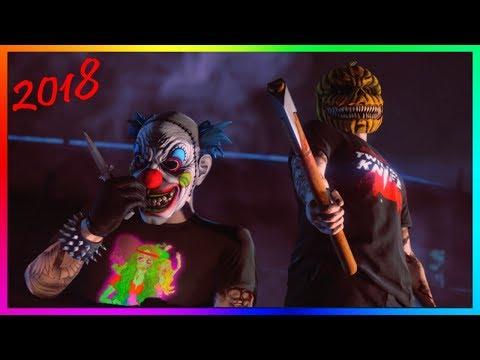 GTA 5 Online Halloween 2018 DLC - All NEW RARE Items, Face Paints, Masks, Cars, Bike & Tattoos!