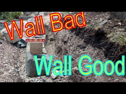 Retaining Wall Failure and How to Fix