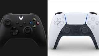 PS5 DualSense vs. Xbox Series X Controller - Head To Head Comparison