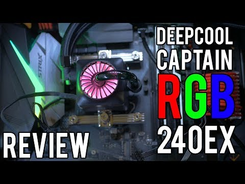 New AIO in town - RGB Captain 240EX from DEEPCOOL