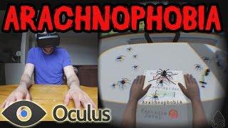 Arachnophobia! | Oculus Rift DK2