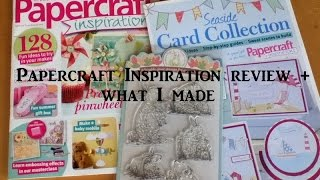 Papercraft Inspiration magazine August 2016 review