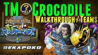 Treasure Mode Crocodile Fight Breakdown | Teams | Bandai Guide | One Piece Treasure Cruise