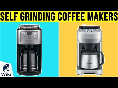 10 Best Self Grinding Coffee Makers 2019