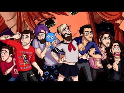 'Hello Boys.' - DDLC & YouTubers Speedpaint