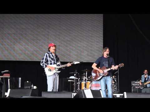 "John Fogerty & Jackson Browne ""The River is Waiting"" Holmdel, NJ"
