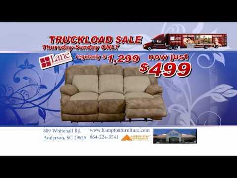 HAMPTON FURNITURE Lane Truck Load Sale.wmv