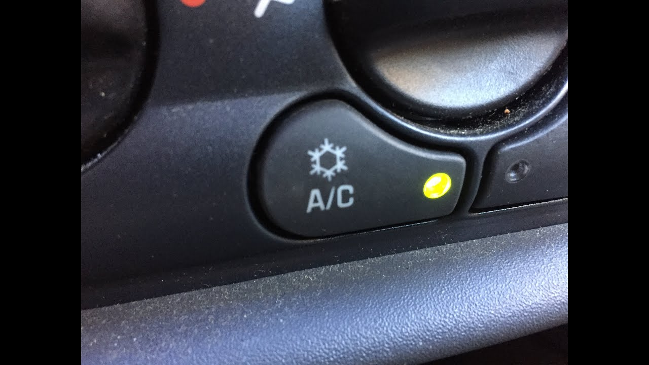 Chevy Malibu A/C Button Inop: HVAC Control Head Replacement