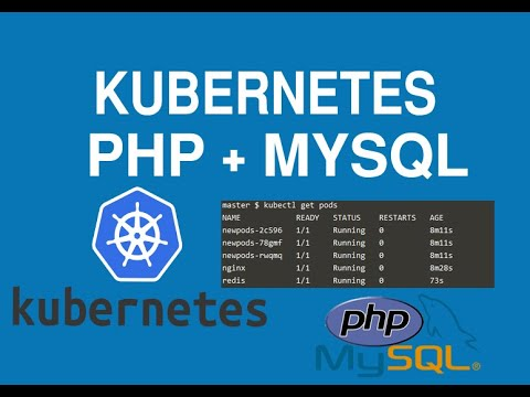 How to Deploy a PHP and MySQL Web App in Kubernetes 2020