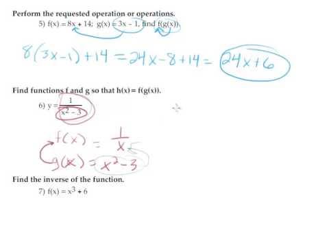 Precalculus Semester 1 Review Part 1