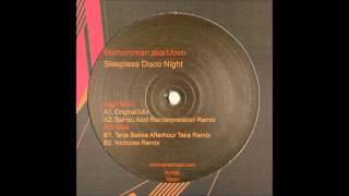"Memoryman aka Uovo - ""Sleepness Disco Night"" (Nicholas Remix)"