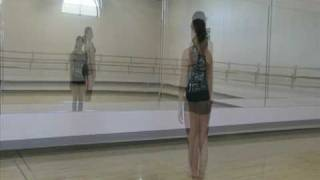 how to spot beginner dance tutorial and demonstration from just for kix