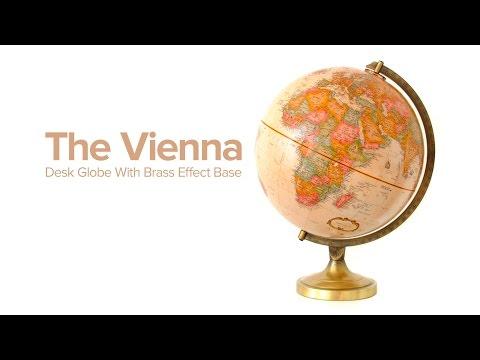 Vienna Desk Globe