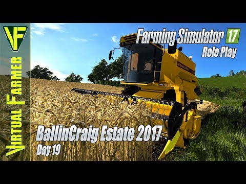 Harvest Time! | BallinCraig Estate 2017, Day 19: Farming Simulator 17 Roleplay