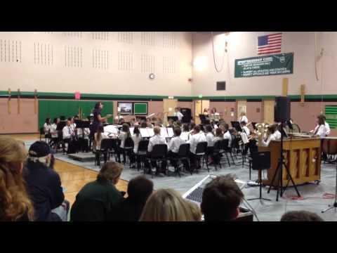 "Noah ""Train"" piece - Woodland Park Middle School Fall, 2012"